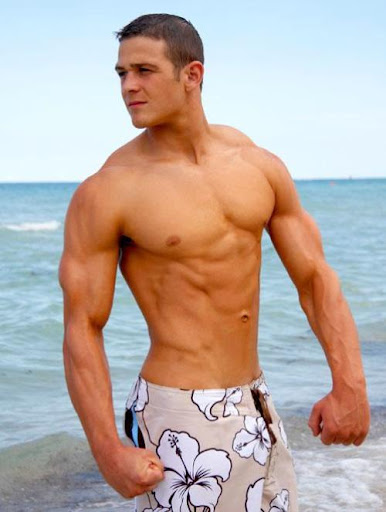 Picture About Muscle Male Shane Holiday