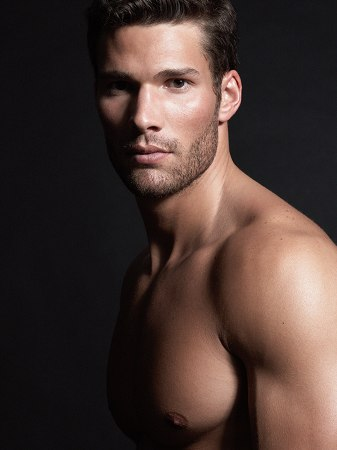 Picture About Male Model Aaron O'Connell