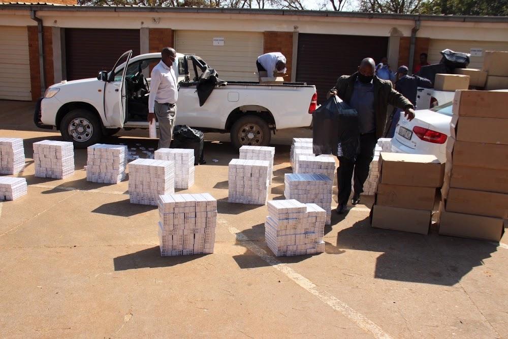 Illicit cigarettes seized as Hawks raid Limpopo warehouse - SowetanLIVE