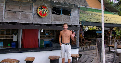 Photo: Restaurant before diving board.