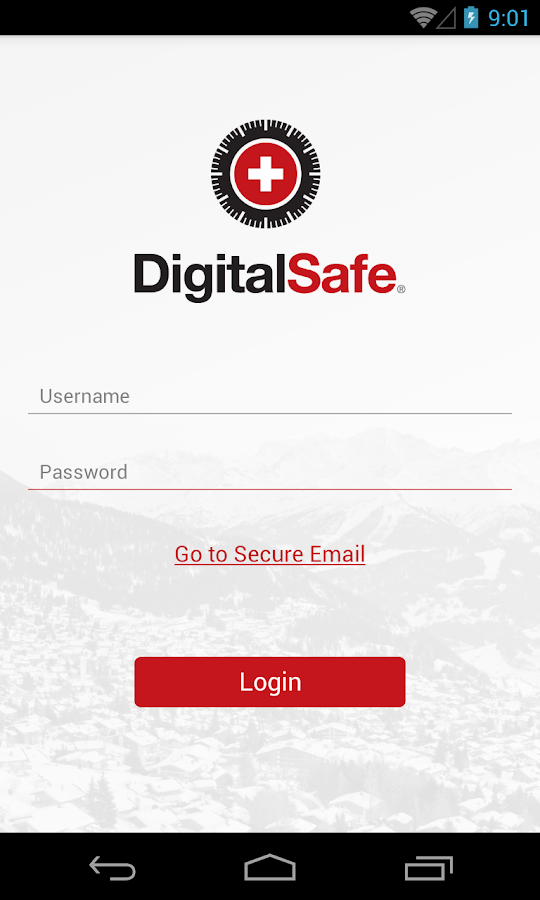 DigitalSafe Swiss Data Safe- screenshot