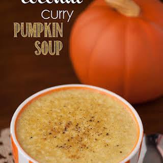 Coconut Curry Pumpkin Soup.