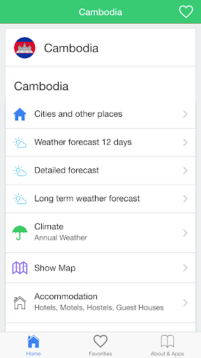 Cambodia weather guide