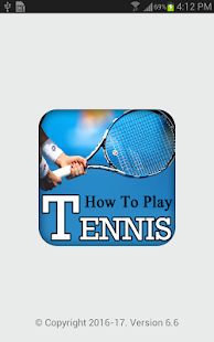 Learn How to Play TENNIS Videos (Learning Tennis) - náhled