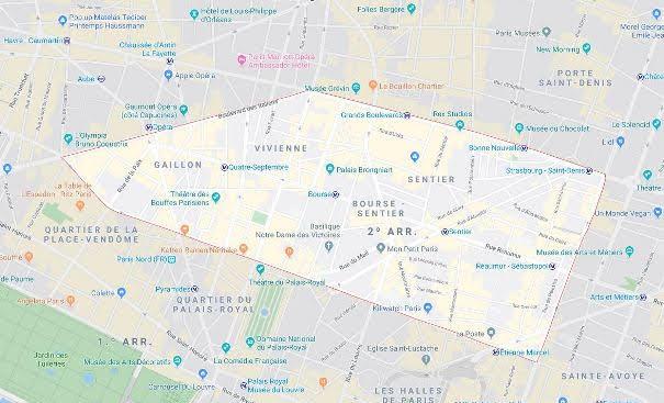 2º arrondissement de la Bourse