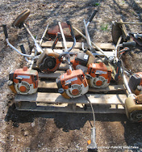 Photo: Lot 42 - (Pallet #2) - 7 Stihl FS-250 Weed Eaters