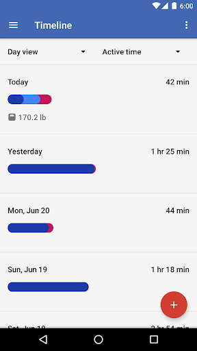Google Fit - Fitness Tracking 1.76.03-132 screenshots 6
