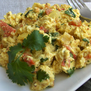 Mex-Ital Tofu Scramble Recipe