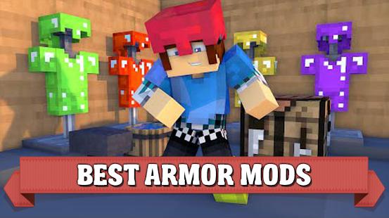 Armor mods for Minecraft pe - náhled