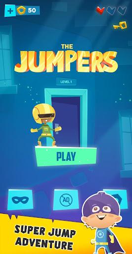 The Jumpers - Super Adventure Game  captures d'écran 1