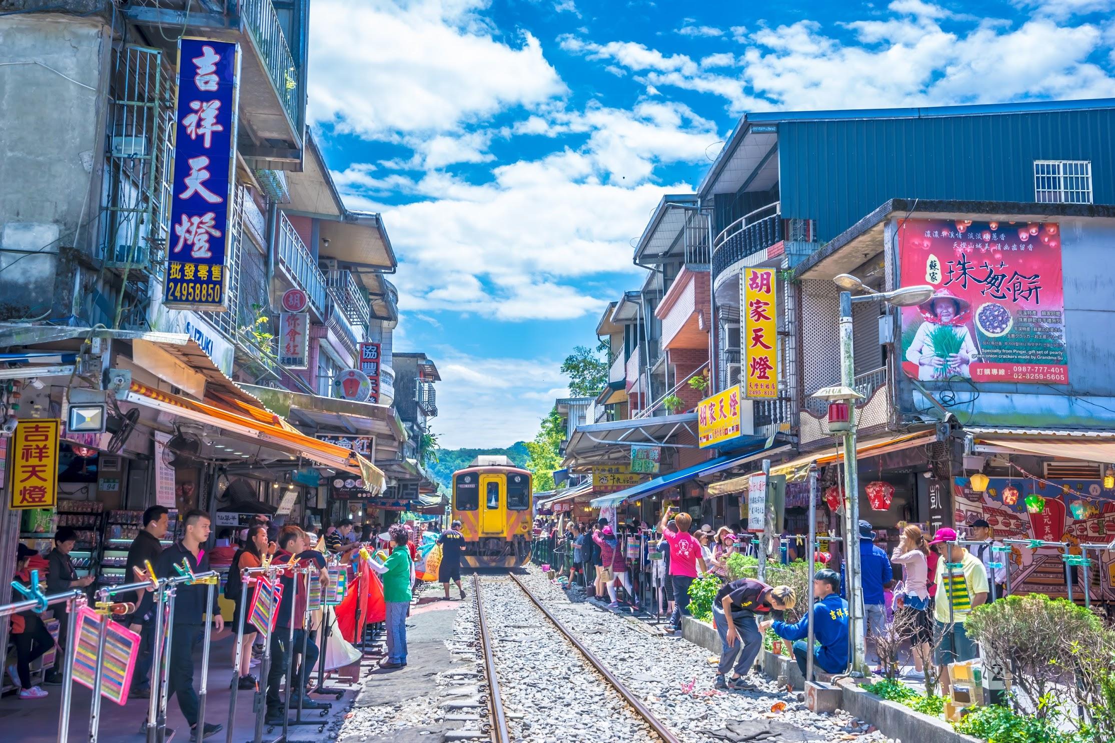 台湾 平渓線 十分2