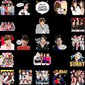 Kpop Korean Idol WAStickerApps Free icon