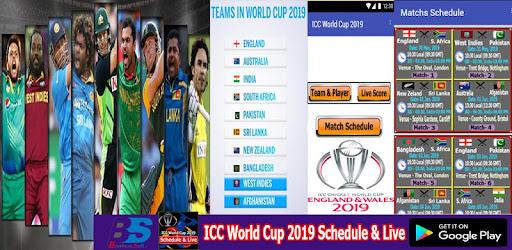 jadual world cup 2019