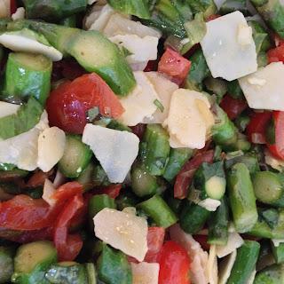 Asparagus-parmesan-tomato Mix