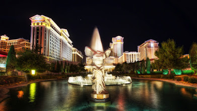 Photo: Winged Victory of Samothrace #Vegas   Caesars Palace in Las Vegas is full of replicas of statues featuring Roman (Greek) Gods. Millions of people walk past this statue of the Goddess Victory every year, most likely thinking she's a headless angel. After all, it's hard to see the plaque on the base of the statue. I wonder if people would be any more concerned that their tennis shoes were named after her? I'm told the Greeks called her Nike.  Please visit the blog at http://williambeem.com