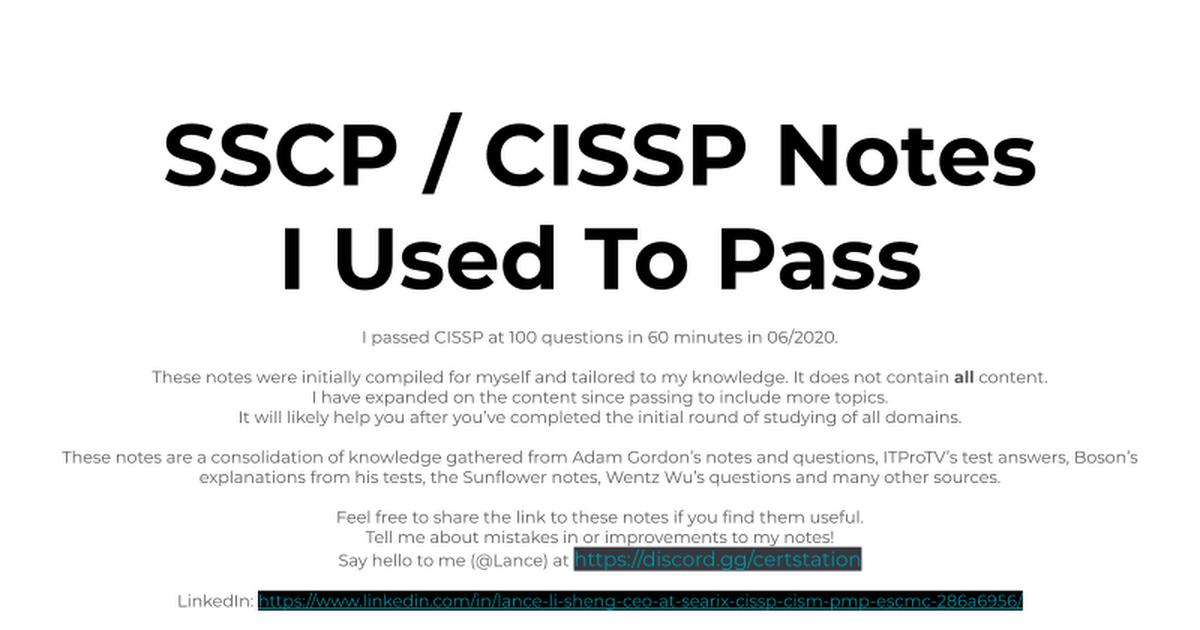CISSP - cover