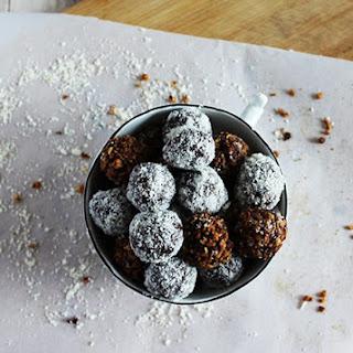 Chocolate Bourbon Balls.