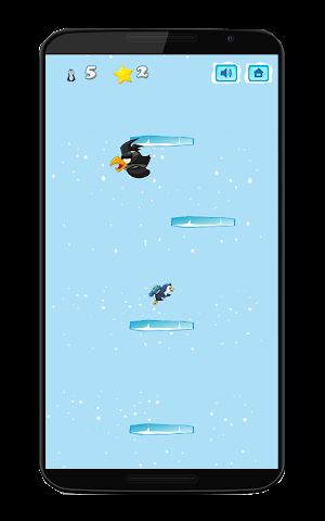 android Pinguin-Kampf springen Screenshot 2