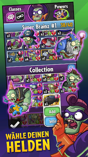 Plants vs. Zombies™ Heroes  Frei Ressourcen 2