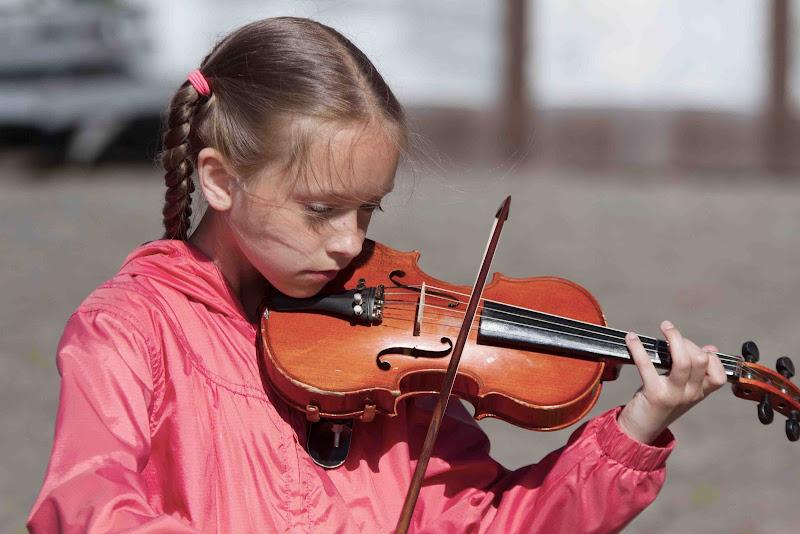 la piccola violinista di antonioromei