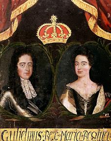 Guillermo III y María II