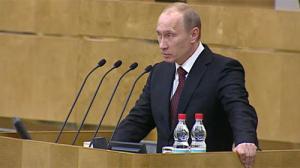 Discurso a la Duma de Vladimir Putin