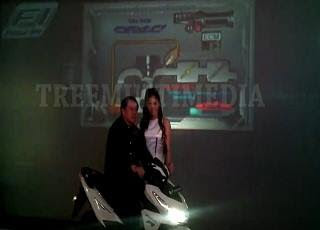 Hologram Launching Honda Vario 150 esp