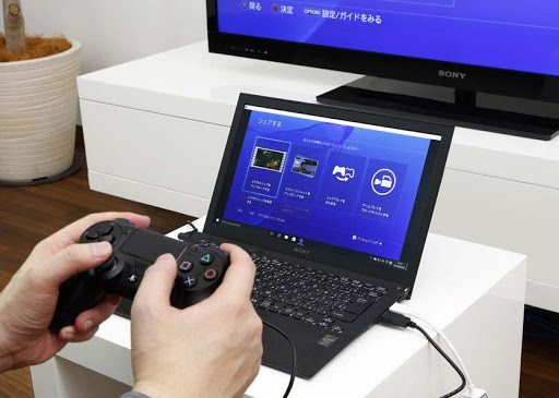 【FF14】PS4コントローラーをPCで使う