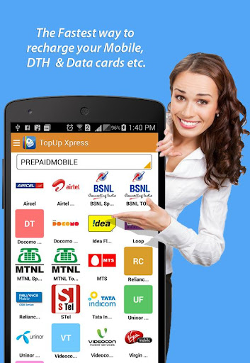 Top Up Xpress Recharge Service