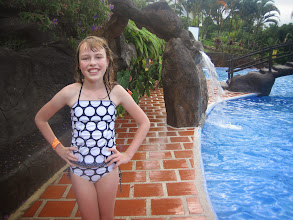 Photo: Enjoying the pools at Los Lagos