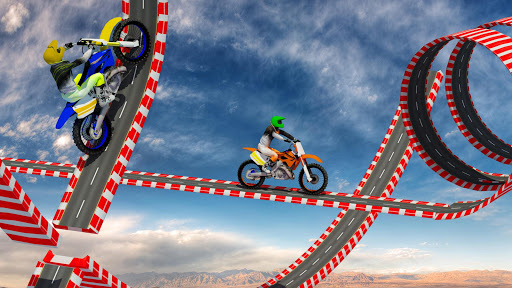 Stunt Bike Impossible Tracks-Race Moto Drive Game image | 14