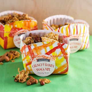 Crunchy Ramen Snack Mix