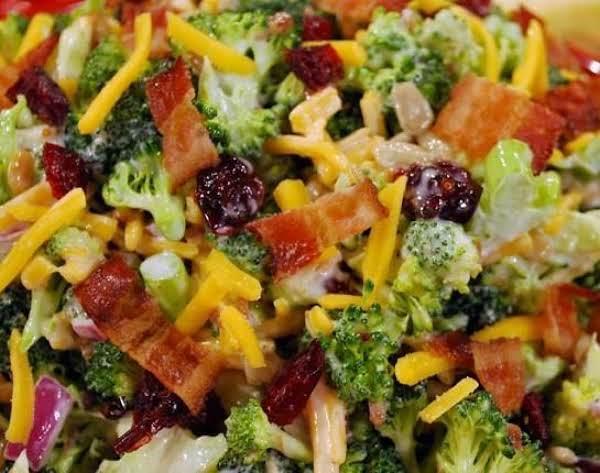 Beautiful Broccoli Salad