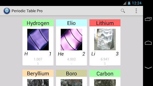 Periodic table pro apk download apkpure periodic table pro screenshot 4 urtaz Choice Image