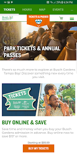 Busch Gardens Discovery Guide - náhled