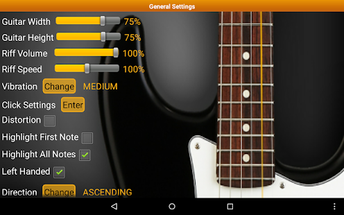 Guitar Scales & Chords Free - screenshot thumbnail