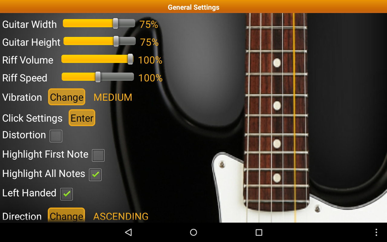 Guitar Scales & Chords Free - screenshot