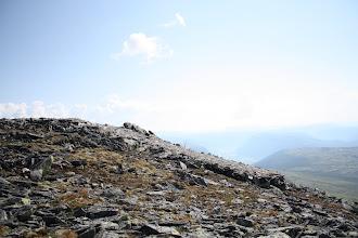 Photo: Вот эта каменная дорожка - суровая норвежская рампа