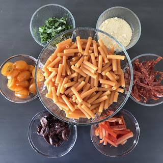 Basic Pasta Salad.