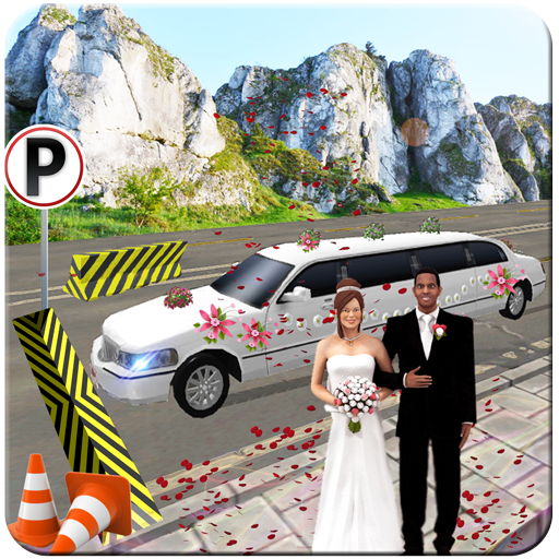 Limo Bridal Parking Simulator in Driving Transport