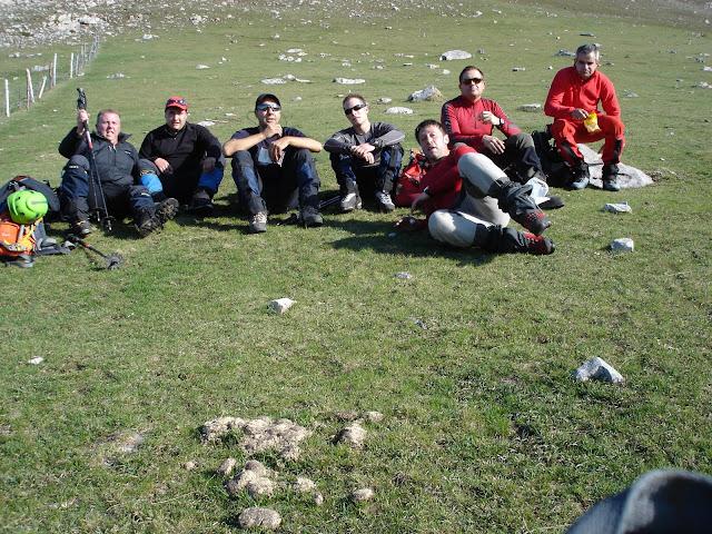 Grupo en el Ronzón