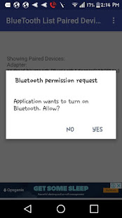 App BLUETOOTH LIST PAIRED DEVICES APK for Windows Phone