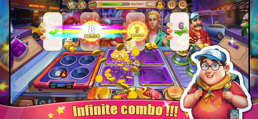 Crazy Cooking Tour: Chef's Restaurant Food Game apktram screenshots 2