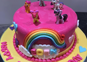My Little pony cakeLittle pony cake