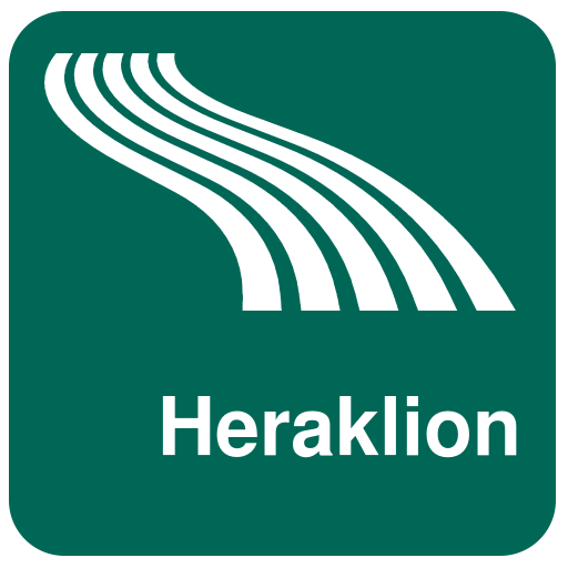 Heraklion Map offline app (apk) free download for Android/PC/Windows