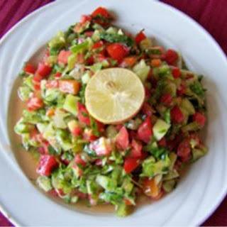Mixed Country Salad (Salata Baladi)