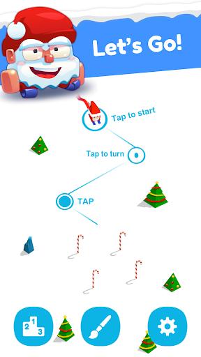 Huuuge Santa Ski screenshot 3