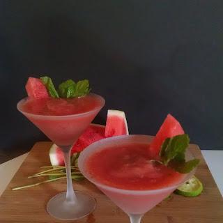 Frozen Watermelon Mint Slush