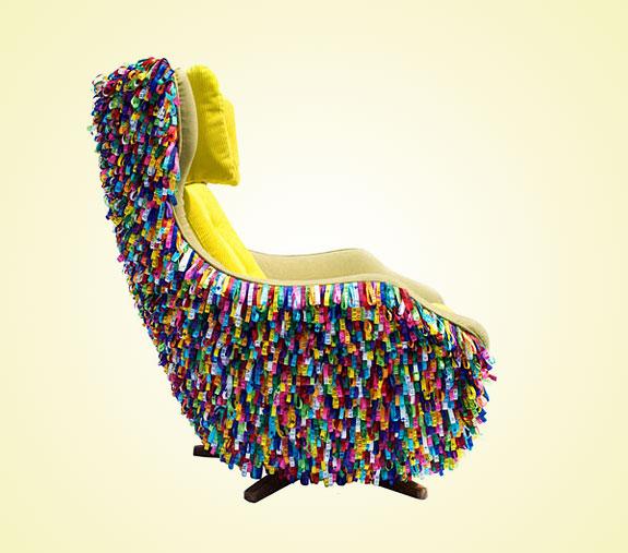 20 Creative And Modern Chairs #design #fotografia #mobiliario