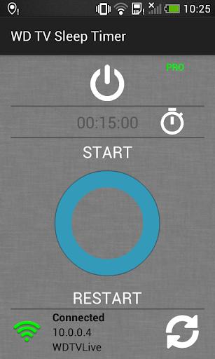 WD TV Sleep Timer 1.0 screenshots 1